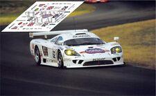 Calcas Saleen S7R Le Mans 2001 62 1:32 1:43 1:24 1:18 slot
