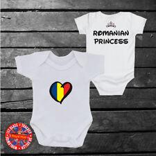 Romania Princess Baby grow vest, Romanian, Disney Inspired, Kids, Girls