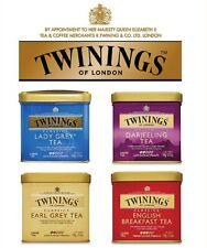 Twinings English Breakfast/ Earl Grey/ Parjeeling/ Lady Grey Loose Tea 100g