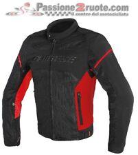 Giacca Dainese Air Frame D1 Tex Nero rosso black red tessuto estiva uomo moto