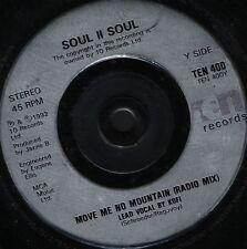 "SOUL II SOUL move me no mountain 7"" WS EX/ uk TEN 400"