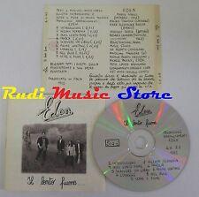 CD EDEN IL LENTO FIUME 1992 CAMPIONE PROMOZIONALE NO lp mc dvd vhs