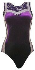 Gymnastic Leotard No Sleeves Girls Gym #038c All Sizes OLYMPIQUE Made UK