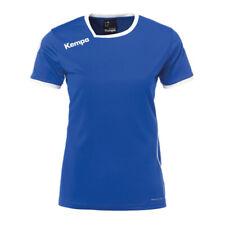 Kempa Curve Trikot T-Shirt Damen Blau Weiss F06