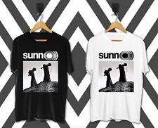 NEW SUNN O))) OM SLEEP BORIS ELECTRIC WIZARD Men's T-shirt Black White S-2XL
