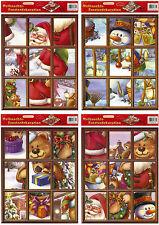 Imagen de Ventana Decoración Mural Adviento Navidad Fenstersticker Pegatinas