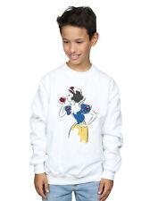 Disney Princess Niños Snow White Apple Glitter Camisa De Entrenamiento Blanco
