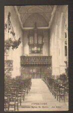 POPERINGHE (BELGIQUE) LES ORGUES , interieur EGLISE