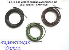 5M Carp Fishing Anti Tangle Rig Tube Sinking Tubing Carp Rigs Terminal Tackle UK