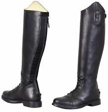 Tuffrider Baroque Tall Field Riding Boots Ladies Premium Leather Round Toe