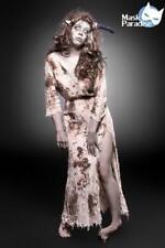 Deguisement femme halloween zombie monstre carnaval costume fantaisie sanglante