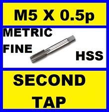5.0mm M5 x 0.5P METRIC FINE HSS SECOND TAP