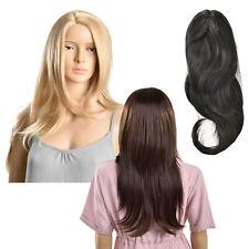 [in.tec]® Perücke Langhaarperücke Kunst Haar Damenperücke Lang Glatt 61cm