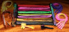 BLING Rabbit Strips Hareline Hasenfellstreifen & Flash auf dem Leder BlingRabbit