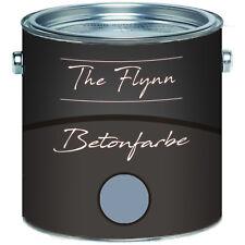 The Flynn Betonfarbe Silber Fassadenfarbe 2,5L 5L 10L 30 kg RAL 7001 Silbergrau