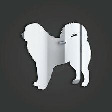 Tibetan Mastiff Style 1 Silver Acrylic Mirror