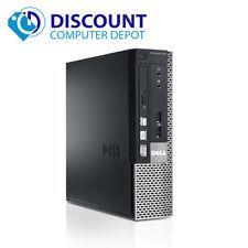 Dell Optiplex 7010 USFF Thin Desktop PC i5 2.5GHz 4GB 120GB SSD Windows 10 Pro