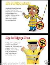 Thank You Lollipop Lady/Man - School crossing- **written by seller** (A4 SIZE)