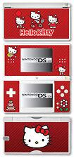 Hello Kitty Vinyl Skin Sticker for Nintendo DS Lite - Red