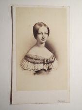 Paris - Herzogin Helene von Orleans Prinzessin Bourbon - um 1860 - Bildnis / CDV