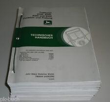 Werkstatthandbuch John Deere Traktor 8100 / 8200 / 8300 / 8400 Technik 12/1998