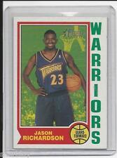 Jason Richardson 2002 Topps Heritage Rookie Basketball Card # 59 in Hard Sleeve