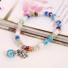 kids girls charm bracelet jewellery ladies colourful multi colour fashion gift