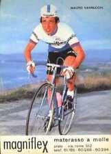 MAURO VANNUCCHI Cyclisme MAGNIFLEX 74 ciclismo Cycling Team ciclista 1974 vélo
