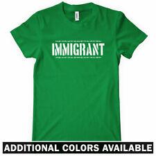 IMMIGRANT Women's T-shirt - Immigration Politics Migra - S-2XL