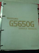 Suzuki Shop Manual for GS500E