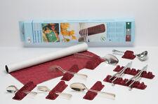 WOLF-Besteckhalter Sortiment für 66 Besteckteile, mit Veloursfolie 45 X 60 cm