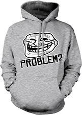 Problem? Troll Face Internet Meme Coolface Have Blog Comment Hoodie Sweatshirt