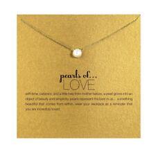 Halskette Pearls of Love Kette Gold Silber Perlen Kette Necklace Perle
