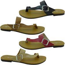 New Womens Gladiator Sandals Fashion Thong Sets Of Toe Flat Shoes VENUS-09