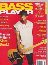 APRIL 2005 BASS PLAYER guitar music magazine MARCUS MILLER