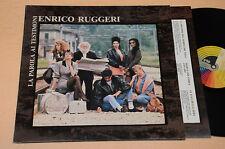 ENRICO RUGGERI LP LA PAROLA AI TESTIMONI 1°ST ORIG NM ! COP APRIBILE !!!!!!!