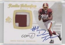 2008 SP Authentic Gold #303 Devin Thomas Washington Redskins Auto Football Card