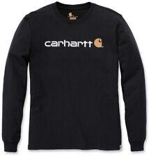 Carhartt Herren T-Shirt Core Logo T-Shirt L/S Black