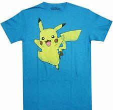 Pokemon Pikachu Jump Adult T Shirt