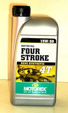 MOTOREX Four Stroke 4T 15W 50  1L  -teilsynthetisch-