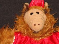 VINTAGE BURGER KING ALF ALIEN PUPPET BASEBALL JERSEY AT STUFFED ANIMAL TOY PLUSH