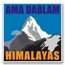 2 x Ama Dablam Himalaya Vinyl Sticker Auto Reise Gepäck #9802