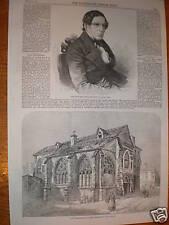 Grazie per la Demolizione Chiesa San Giovanni in Laterano Paris 1859
