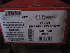 8X3/4 Bulk Hwh Self Drilling Screw 10000Pcs(Aa8060-1)