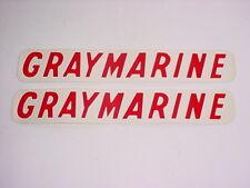 GRAYMARINE ENGINE DECALS (2)~CHRIS CRAFT~CENTURY BOAT
