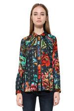 Desigual Toscana Autumnal Floral Shirt XS-XXL UK 8-18 RRP �74