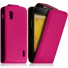 Kunstleder Handy Schutzhülle mit Klappe für Google Nexus 4 E960/ Mako