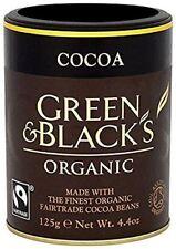 Green & Blacks Cocoa Powder Organic Fairtrade 125g