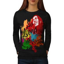 Rasta Legend Celebrity Women Long Sleeve T-shirt NEW | Wellcoda