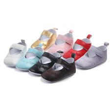 Toddler Baby Girls Crib Pram Shoes Kids Soft Sole Anti Slip Walkers Sneaker Cute